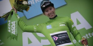 Onklopbare Wiebes pakt eindzege in Tour of Chongming Island