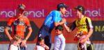 """Vincenzo Nibali en Primoz Roglic geven geen hand: """"Niet bewust"""""""