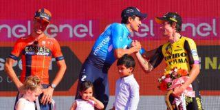 """Roglic verrast: """"Trotser op Giro-podium dan winnen van Vuelta"""""""