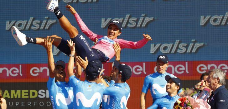 Carapaz rijdt in Burgos eerste koers sinds Giro d'Italia