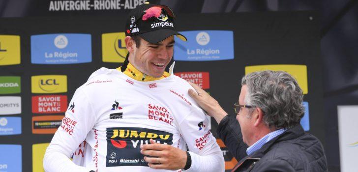 """Van Aert in jongerentrui Dauphiné: """"Misschien had er meer ingezeten"""""""