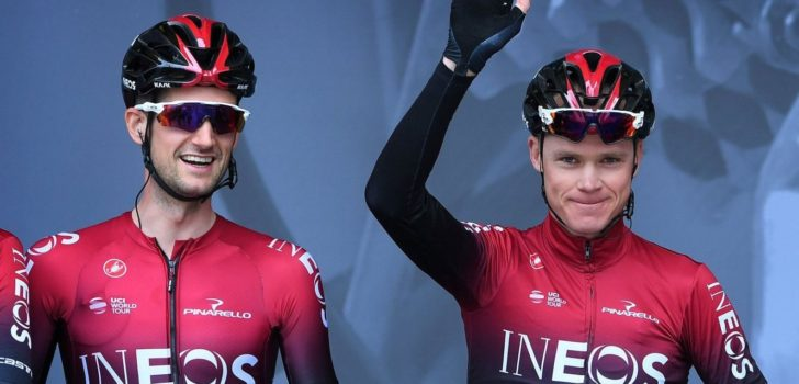 "Wout Poels zag zware val Chris Froome: ""Je bent wel even in shock"""