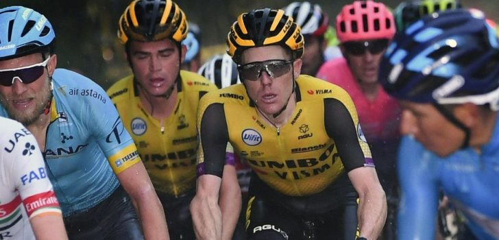 Opgave zieke Steven Kruijswijk in laatste rit Dauphiné