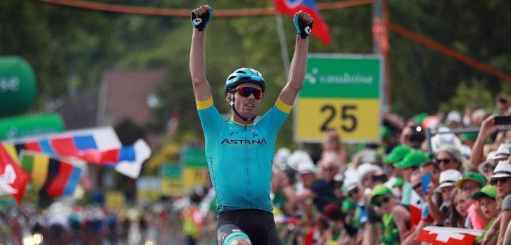 Sánchez verrast peloton in Zwitserland, Asgreen leidt