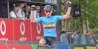 Dubbelslag Ardila in Giro U23, Verschaeve tweede