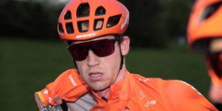 Van Hooydonck komt met de schrik vrij na zware val in Belgium Tour