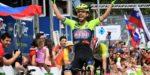 Giovanni Visconti is de snelste na zware bergrit Ronde van Slovenië