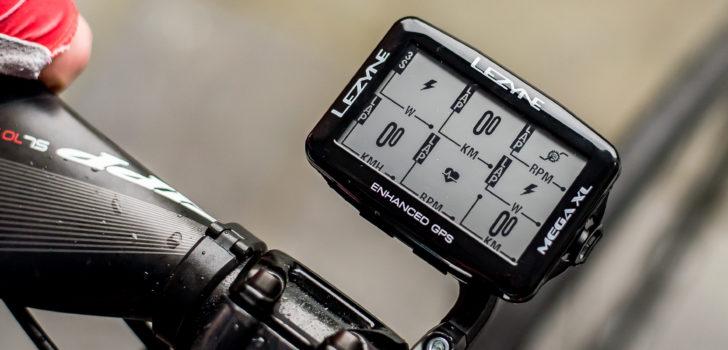 De LezyneMega XL: De fietscomputer van Bardet en Naesen