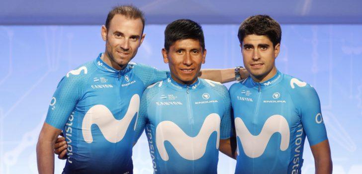 Tour 2019: Movistar met Mikel Landa, Nairo Quintana én Alejandro Valverde