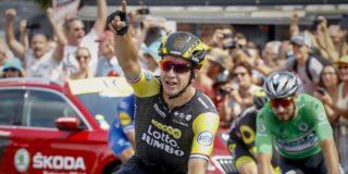 'Groenewegen kan Sagan uitdagen voor het groen in de Tour'