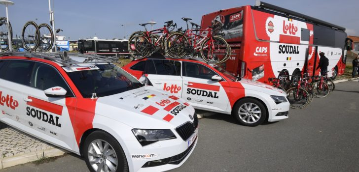 Lotto Soudal voert alcoholverbod in