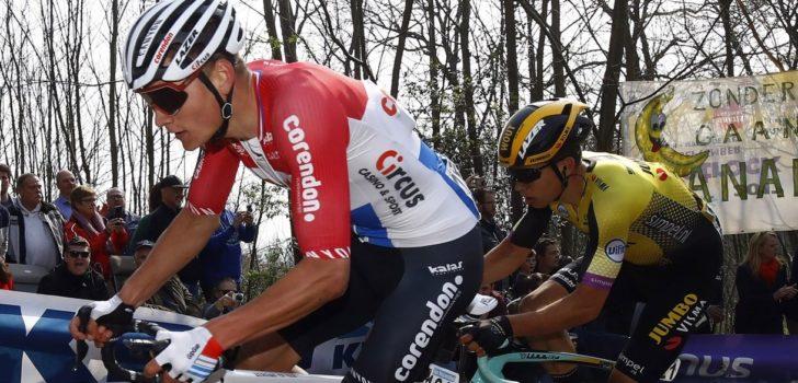 """Mathieu van der Poel vol lof: """"Dat Wout nu wint vind ik niet écht een verrassing"""""""