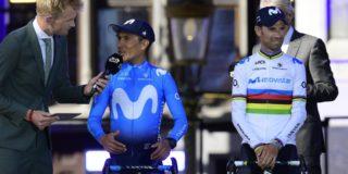 """Valverde: """"Nairo had niet de benen, maar dat wisten wij niet"""""""