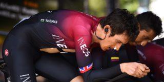 Geraint Thomas kiest weer voor Zwitserland in aanloop naar Tour