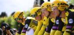 Tour 2019: Jumbo-Visma superieur in ploegentijdrit Brussel, Teunissen houdt geel