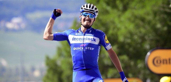 """Alaphilippe debuteert in Ronde van Vlaanderen: """"Ontdekkingstocht"""""""
