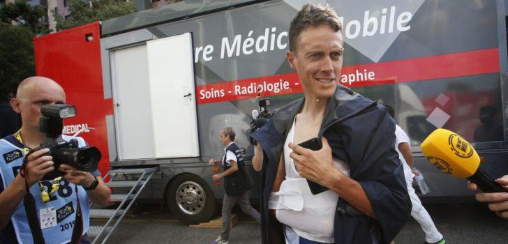 Tour 2019: Niki Terpstra uit koers met schouderblessure