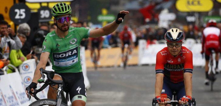 Tour 2019: 'Recordgroen' voor Peter Sagan, Romain Bardet wint bolletjestrui