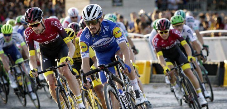 Julian Alaphilippe blijft UCI World Ranking aanvoeren