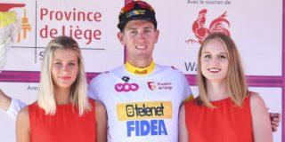 Toon Aerts verzekert zich van eindwinst bergklassement Ronde van Wallonië