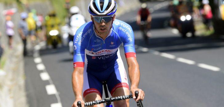 Lilian Calmejane soleert naar eerste leiderstrui in Tour du Limousin