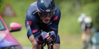 Daan Hoole komt net tekort in proloog Giro Valle d'Aosta