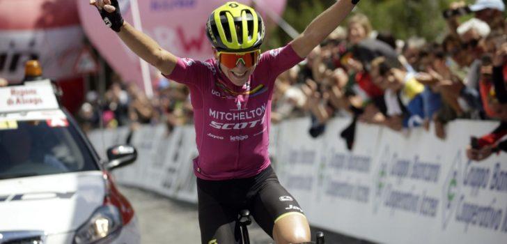 Annemiek van Vleuten degradeert de tegenstand in Giro Rosa