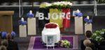 Naasten nemen afscheid van Bjorg Lambrecht tijdens uitvaart