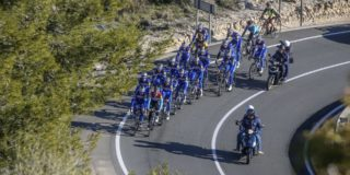 Deceuninck-Quick Step op trainingskamp in Calpe
