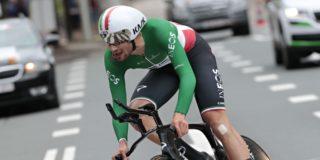 Ganna wint tijdrit BinckBank Tour, Wellens blijft leider