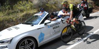 Vuelta 2019: Luka Mezgec loopt bekkenbreuk op