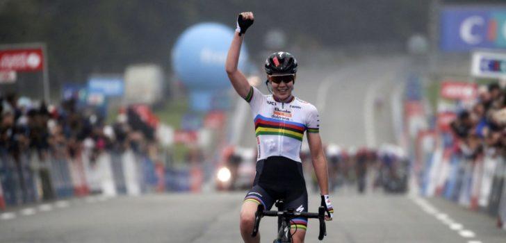 Van der Breggen wint in Plouay, De Vuyst zevende