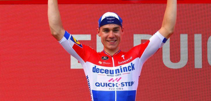 """Jakobsen droomt van Tour: """"Na Vuelta sta ik op de eerste plek"""""""