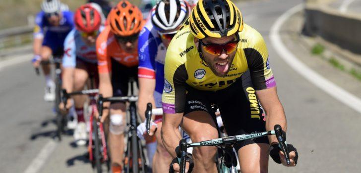 Maarten Wynants afgevoerd naar ziekenhuis na val in BinckBank Tour