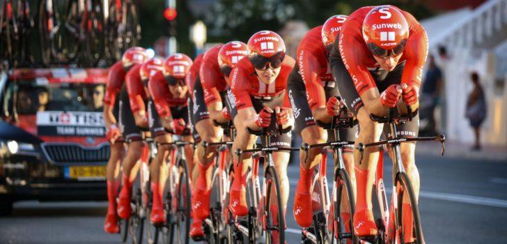 Vuelta 2019: Sunweb tevreden met optreden in ploegentijdrit