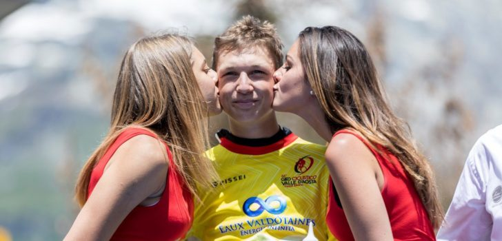 Volg hier de achtste etappe van de Tour de l'Avenir 2019
