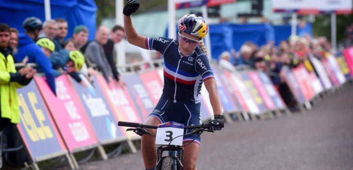 Ferrand-Prévot pakt wereldtitel mountainbike marathon