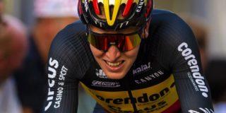 """Merlier komt niet aan sprinten toe in Brussel: """"Ik zat in de schaar"""""""