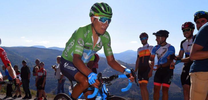 Vuelta 2019: Nairo Quintana kampt met verkoudheid
