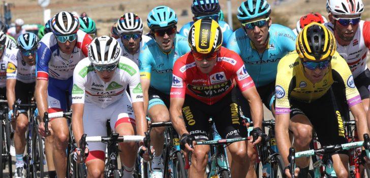 Vuelta 2019: Klassementen na etappe 17