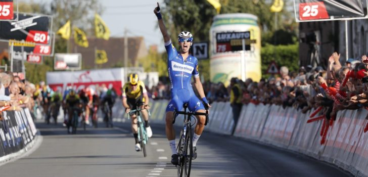 Deceuninck-Quick Step-stagiair Steimle wint Koolskamp Koers