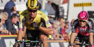 """Groenewegen: """"Jammer genoeg wilde Deceuninck-Quick Step geen sprint"""""""