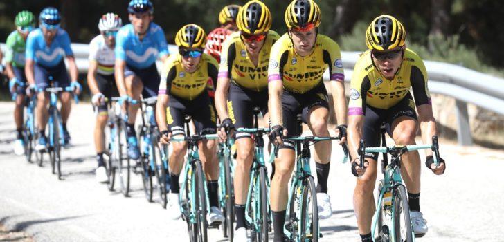 Vuelta 2019: Klassementen na etappe 18