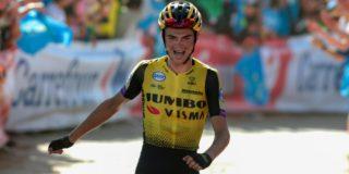 Vuelta 2019: Sepp Kuss bezorgt Jumbo-Visma ritzege in Asturië, Roglic loopt uit