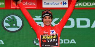 """Primoz Roglic gaat de Vuelta winnen: """"Ik ben heel erg opgelucht"""""""