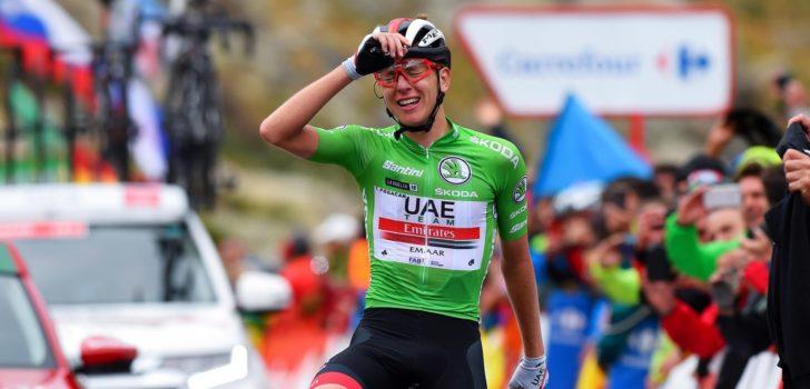 Tadej Pogacar wellicht terug in Vuelta, mogelijk ook Giro óf Tour