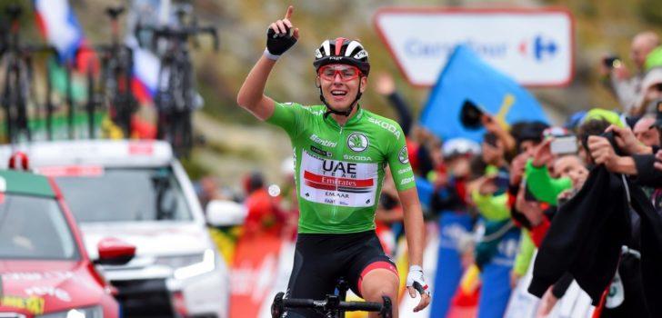 Vuelta 2019: Derde ritzege brengt Pogacar het podium, Roglic heeft eindzege bijna binnen