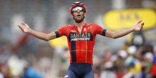 """Vincenzo Nibali hervindt moraal: """"Bij Bahrain Merida is er iets geknapt"""""""