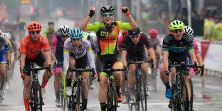 Hosking wint Tour of Guangxi voor vrouwen, Vos derde
