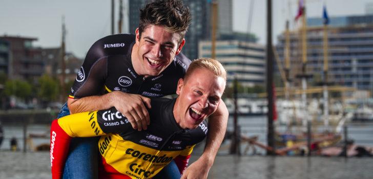 """Wout van Aert en Tim Merlier (deel I): """"Een hele carrière in dezelfde ploeg, dat is utopisch"""""""